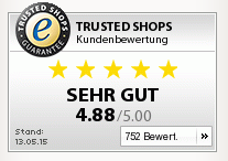 Bewertungsskala Trusted Shops