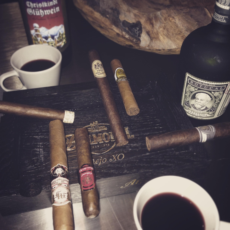 Zigarren und Glühwein