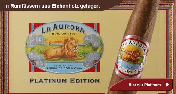 La Aurora Platinum Cigars
