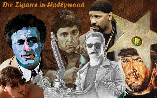 Zigarren in Hollywood