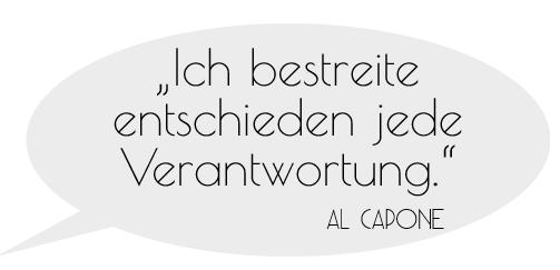 Zitat Capone