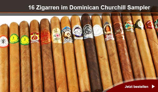 Dominican Churchill Sampler