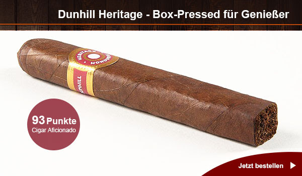 Dunhill Heritage Robusto Box-Pressed