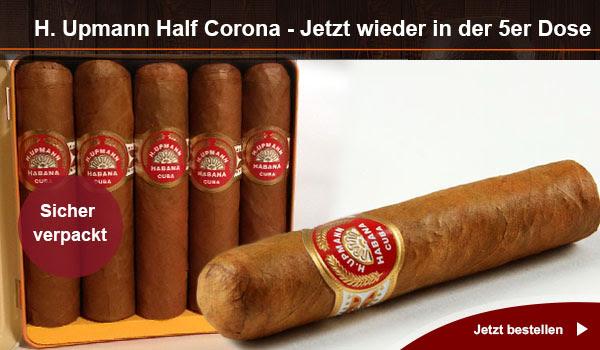 Die kleine H. Upmann Half Corona