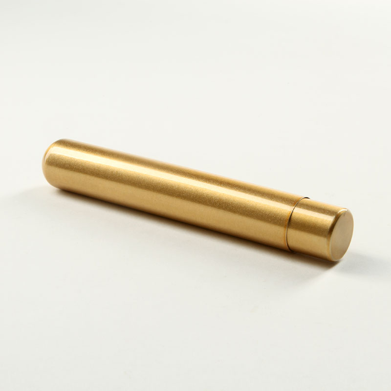 Basic Zigarren Tubos Alu gold