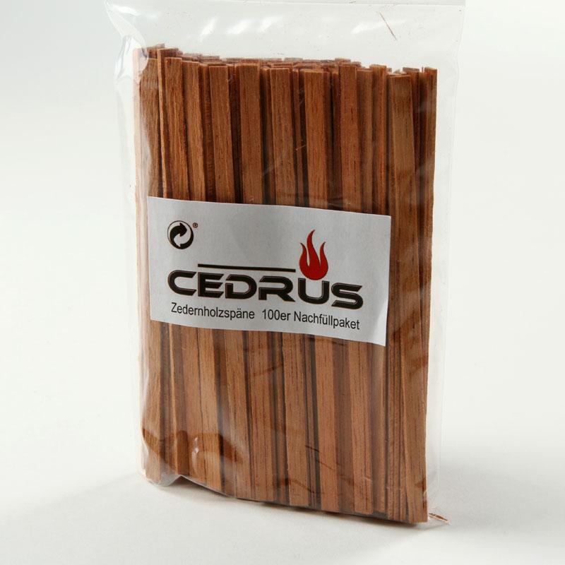 Cedrus Zedernholzspäne im Nachfüllpack