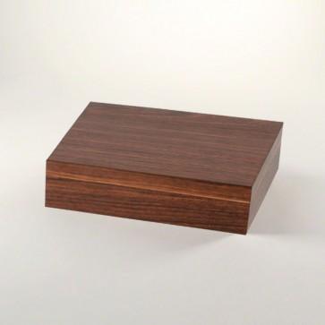 Basic Humidor Walnuss-Dekor für 15 bis 20 Zigarren