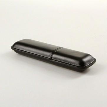 Zigarren Etui Angelo Corona 2er schwarz