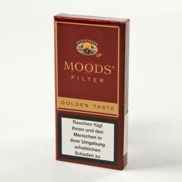 Dannemann Moods Filter Golden Taste 5er
