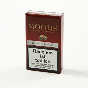 Dannemann Moods Silver Filter 12er