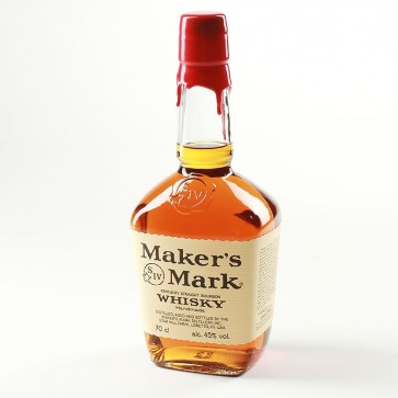 Maker's Mark Whiskey Red Wax
