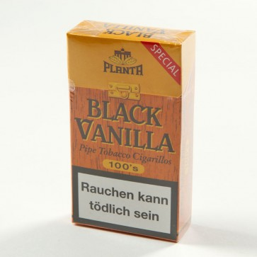 Planta Black Vanilla Special Filter Cigarillos 100s (10er Gebinde)