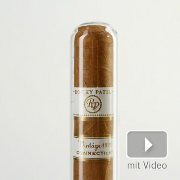 Rocky Patel Vintage Connecticut 1999 Robusto Glass Tube