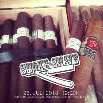 Smoke and Shave Event (25.Juli 2013, Berlin)