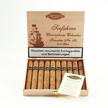 Woermann Cigars Seefahrer Christopherus Columbus Sumatra Nr. 150
