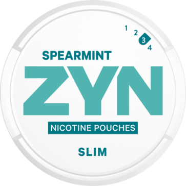 ZYN Slim Spearmint Strong Nicotine Pouches
