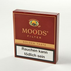 Dannemann Moods Filter Golden Taste 20er