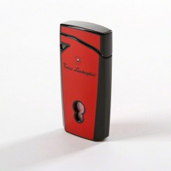 Tonino Lamborghini Magione Red Torch Flame Lighter