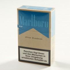 Marlboro Blue ohne Zusätze