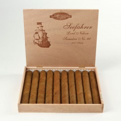 Woermann Cigars Seefahrer Lord Nelson Sumatra Nr 80
