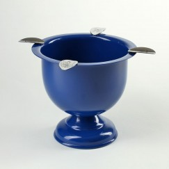 Stinky Ashtray blau