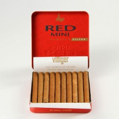 Villiger Red Mini Vanilla Filter