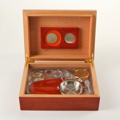Basic Humidor - Set Rosenholz