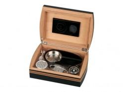 Humidor-Set Lederoptik für 25 Zigarren