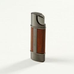 Brizard & Co. Nano Jetflame Feuerzeug Holz