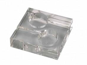 Zigarrenaschenbecher Passatore Kristall 2er