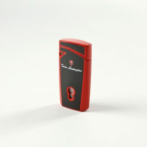 Tonino Lamborghini Magione Black Red Torch Flame Lighter