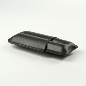 Basic Zigarrenetui Robusto 2er schwarz