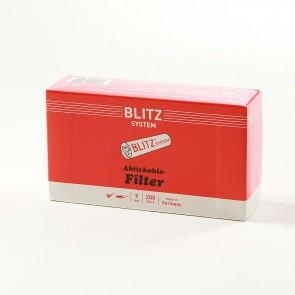 Blitz Aktivkohlefilter 9mm 200er