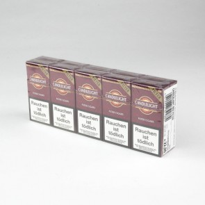 Candlelight Mini Cigarillo Red Filter (10er Gebinde)
