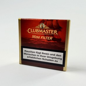 Clubmaster Mini Filter Red No. 222