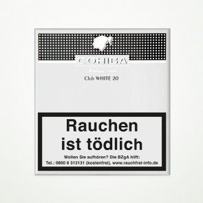 Cohiba White Club Cigarillos