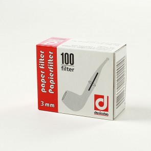 Denicotea Pfeifenfilter 3mm