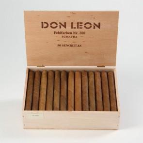 Don Leon Senoritas Fehlfarben No. 300 Sumatra