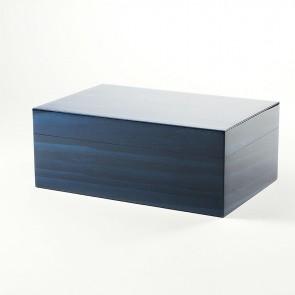 Gentili Humidor Blau für 30 Zigarren