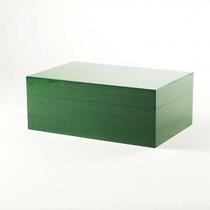 Gentili Humidor Grün für 30 Zigarren