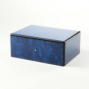 Gentili Humidor Madrona-Blau für 25 Zigarren