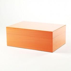 Gentili Humidor Orange für 30 Zigarren