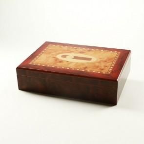 "Humidor ""Cigar"" Intarsien für 20 Zigarren"