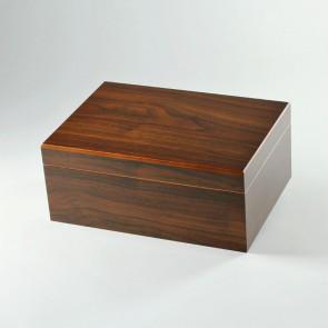 Basic Humidor Walnuss-Dekor für 50 Zigarren