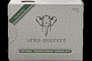 White Elephant Natur-Meerschaum-Granulat 30g