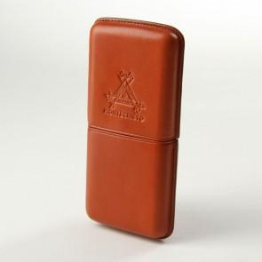 Montecristo Zigarren Etui Cognac 3er Corona