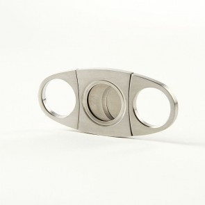 No Name Cigar Cutter 2 Chrome Satin