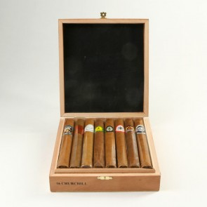 Victor Sinclair 8 Brands Dominican Sampler Churchill