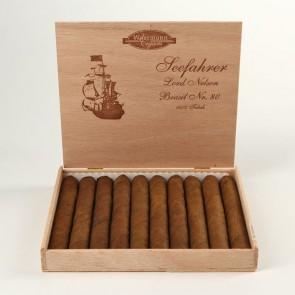 Woermann Cigars Seefahrer Lord Nelson Brasil Nr 80