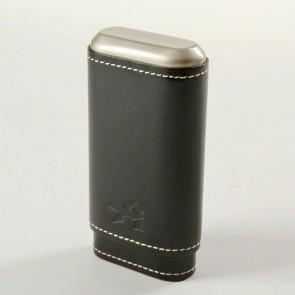Xikar Zigarren Etui Robusto 3er schwarz